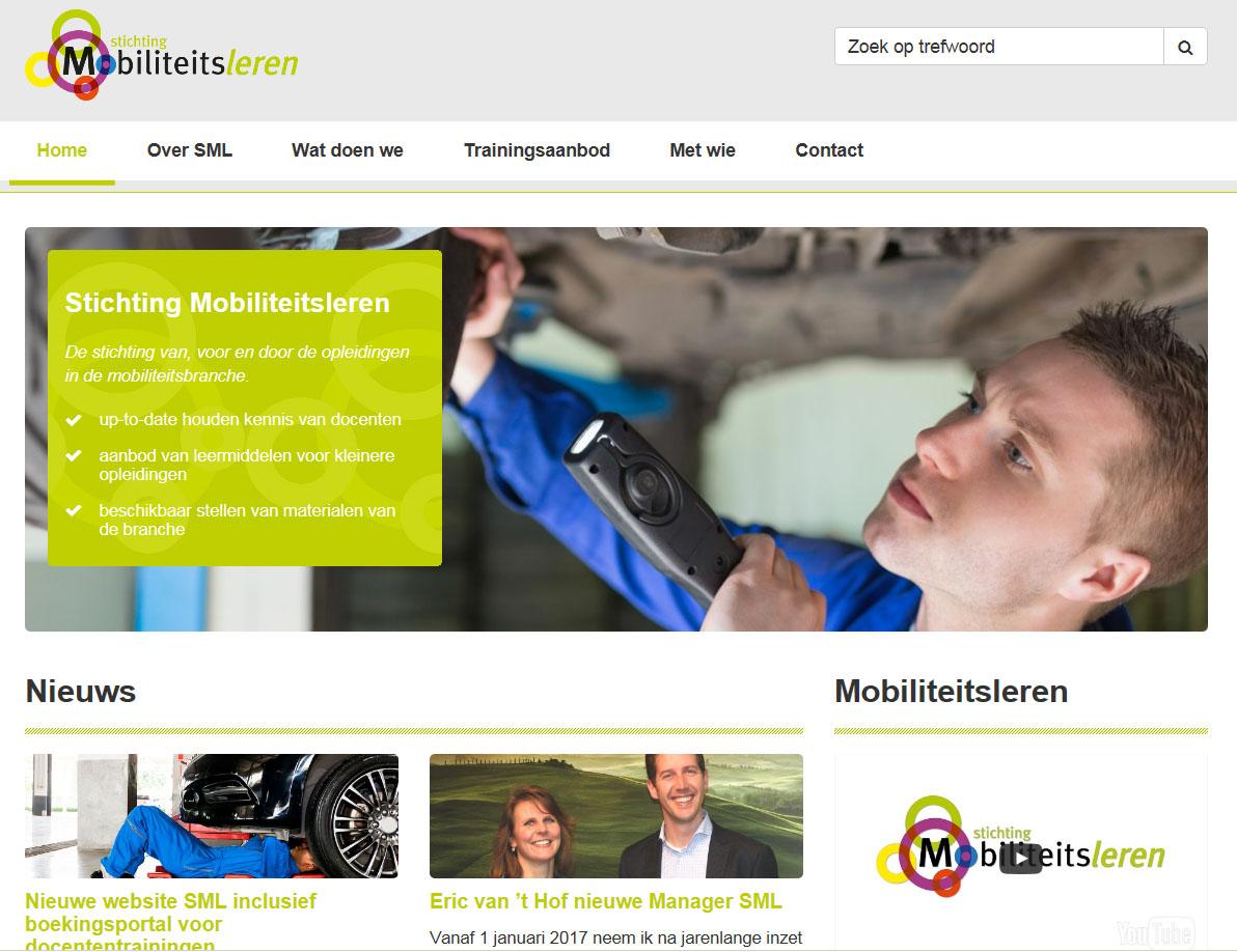 Nieuwe website SML inclusief boekingsportal voor docententrainingen