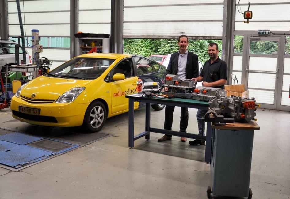 Gelukkige winnaars van Renault Zoë Motoren
