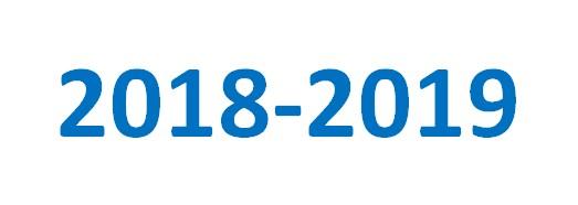 Schooljaar 2018-2019